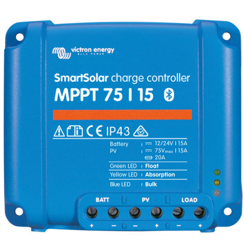 Solcellsregulator victron mppt smart 75/10
