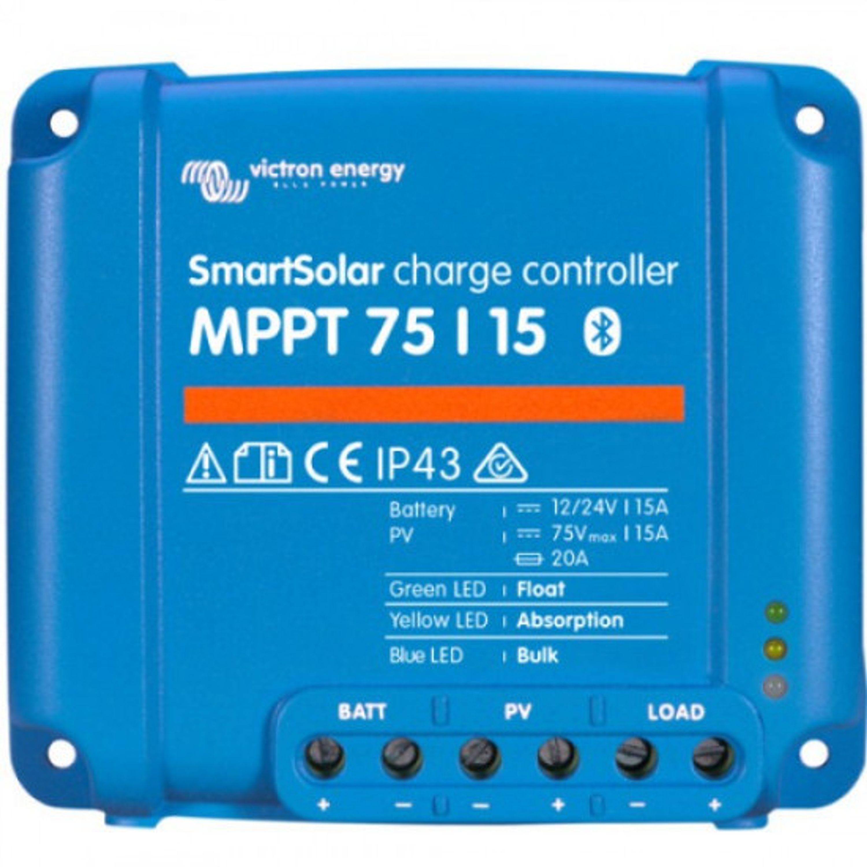 Solcellsregulator victron mppt smart 75/15