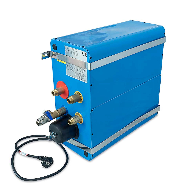 Varmvattenberedare emaljerad 20l rektangulär albin pump