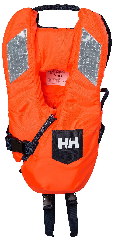 Flytväst baby safe+ orange 5-15kg helly hansen