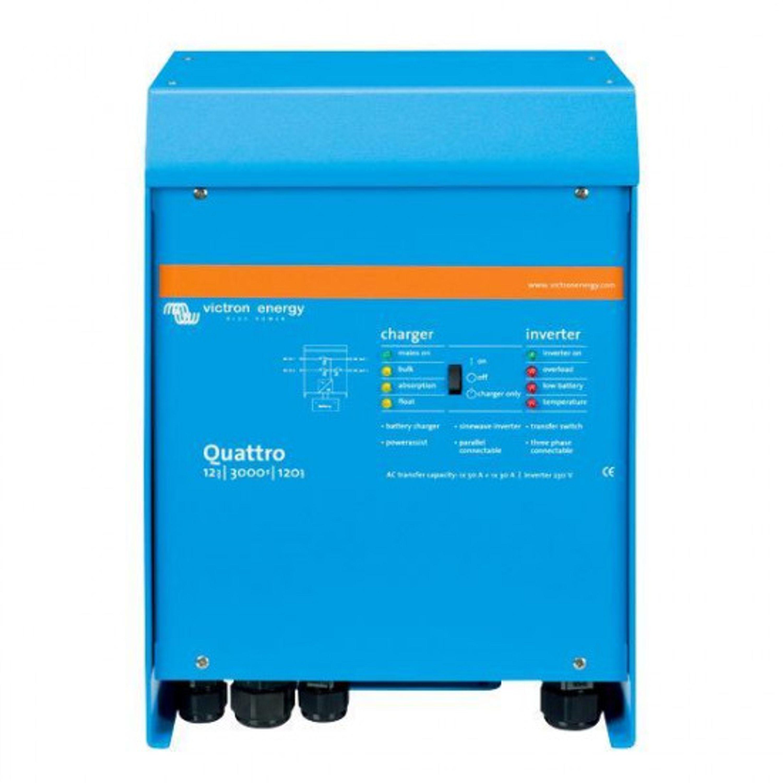 #batteriladdare/inverter victron quattro 12v 2500w/120- 50/ 3