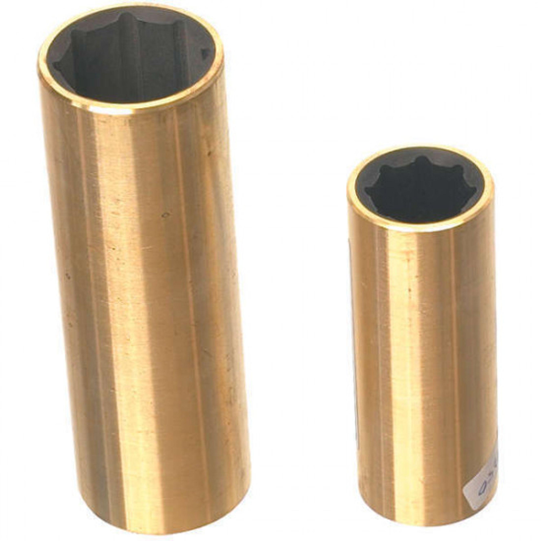 Cutlesslager vattensmort mässing/gummi 55 x 75 x 220 mm