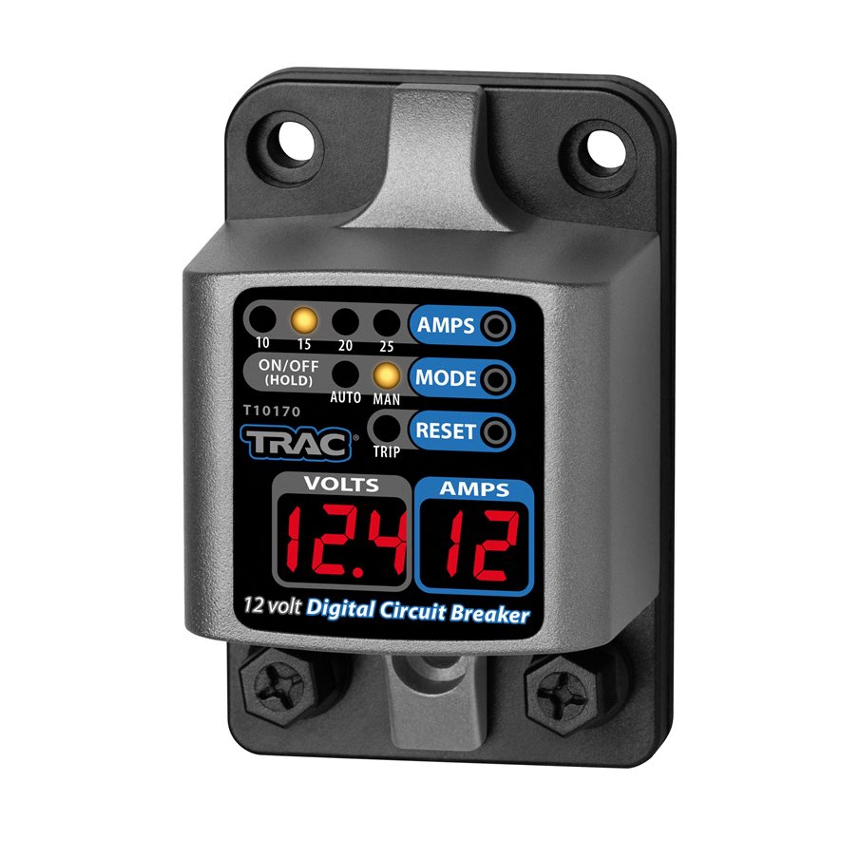 Huvudsäkring trac digital med display 10-25 amp