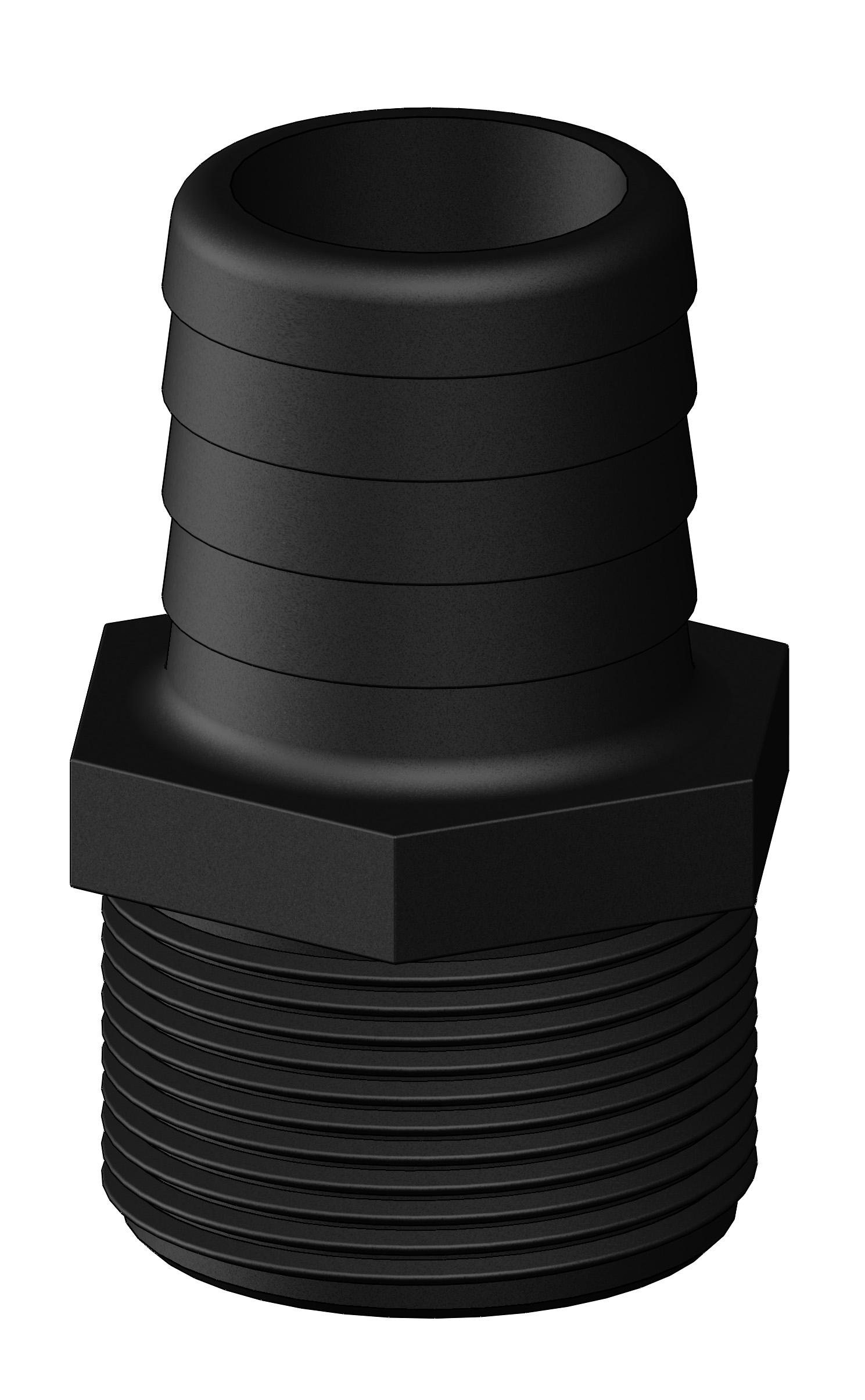 Slangsockel 1 1/2 38mm