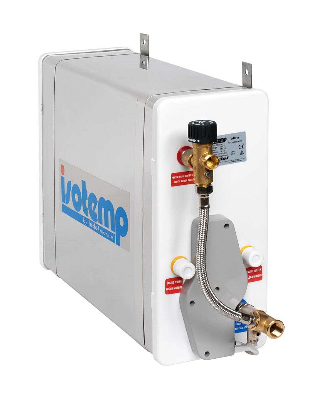 Isotemp slim square varmvattenberedare 16l 230v med blandnin