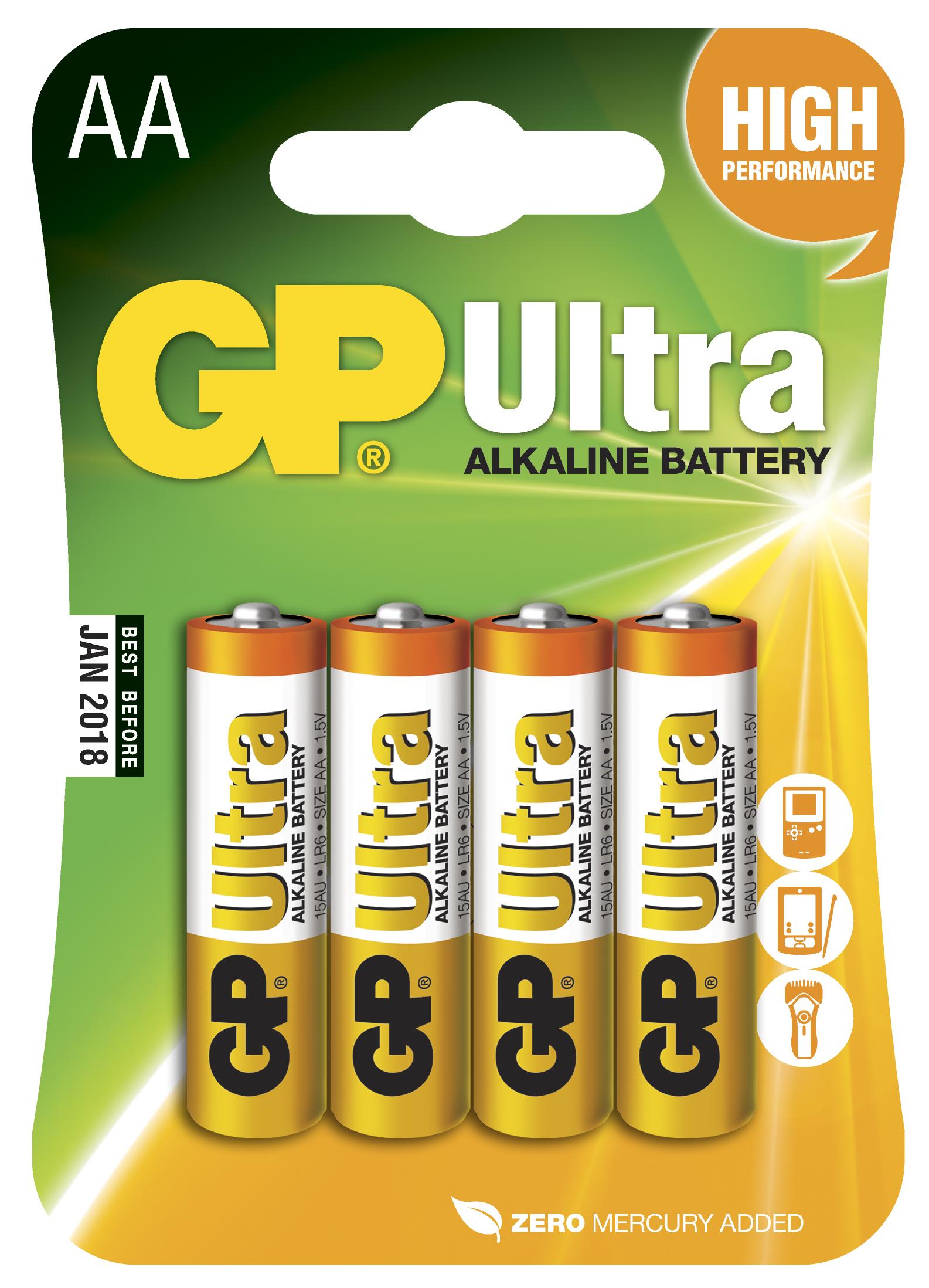 Batteri aa gp 4/fpk