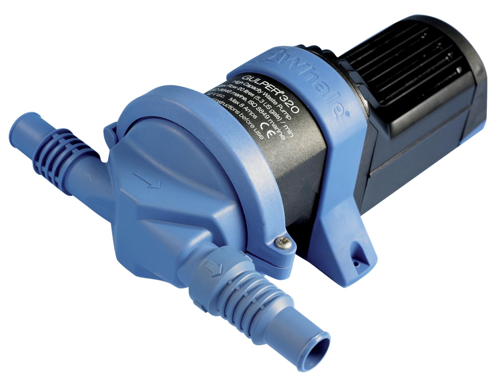 Whale gulper 320 pump 24v