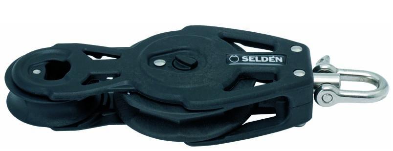 Fiol-spärrblock 60mm