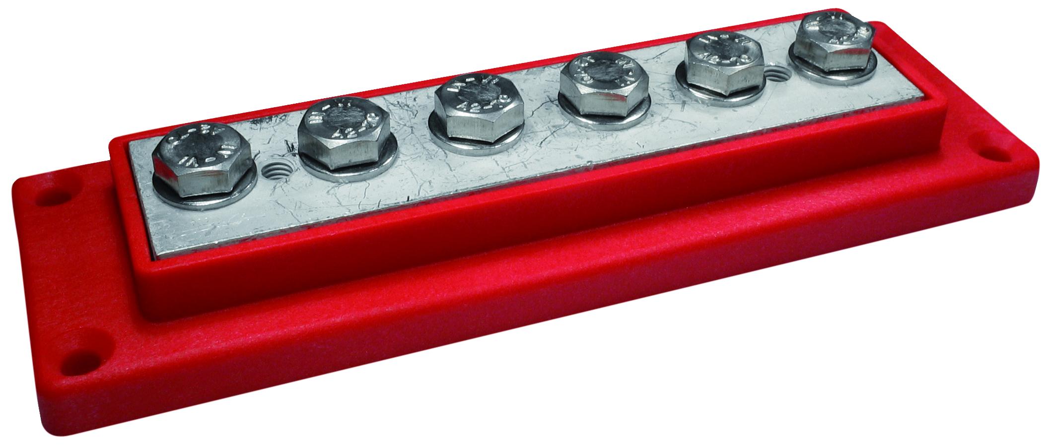 Kopplingsplint röd 6 x 50 mm²