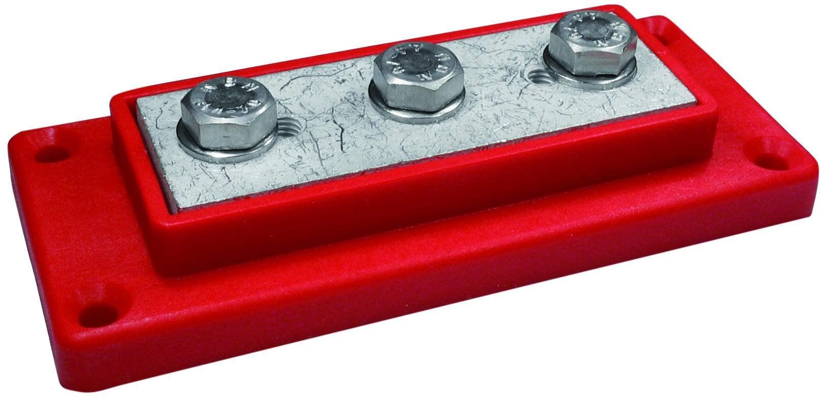 Kopplingsplint röd 3 x 95 mm²