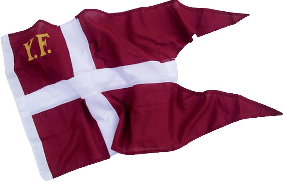 Yf-flagga danmark 125×65 cm