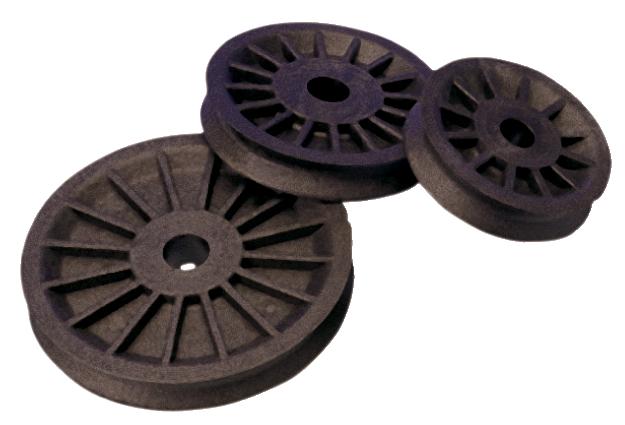 Blockskiva seldén komposit 28x10x13 mm