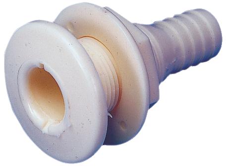 Bordgenomföring vit 38 mm