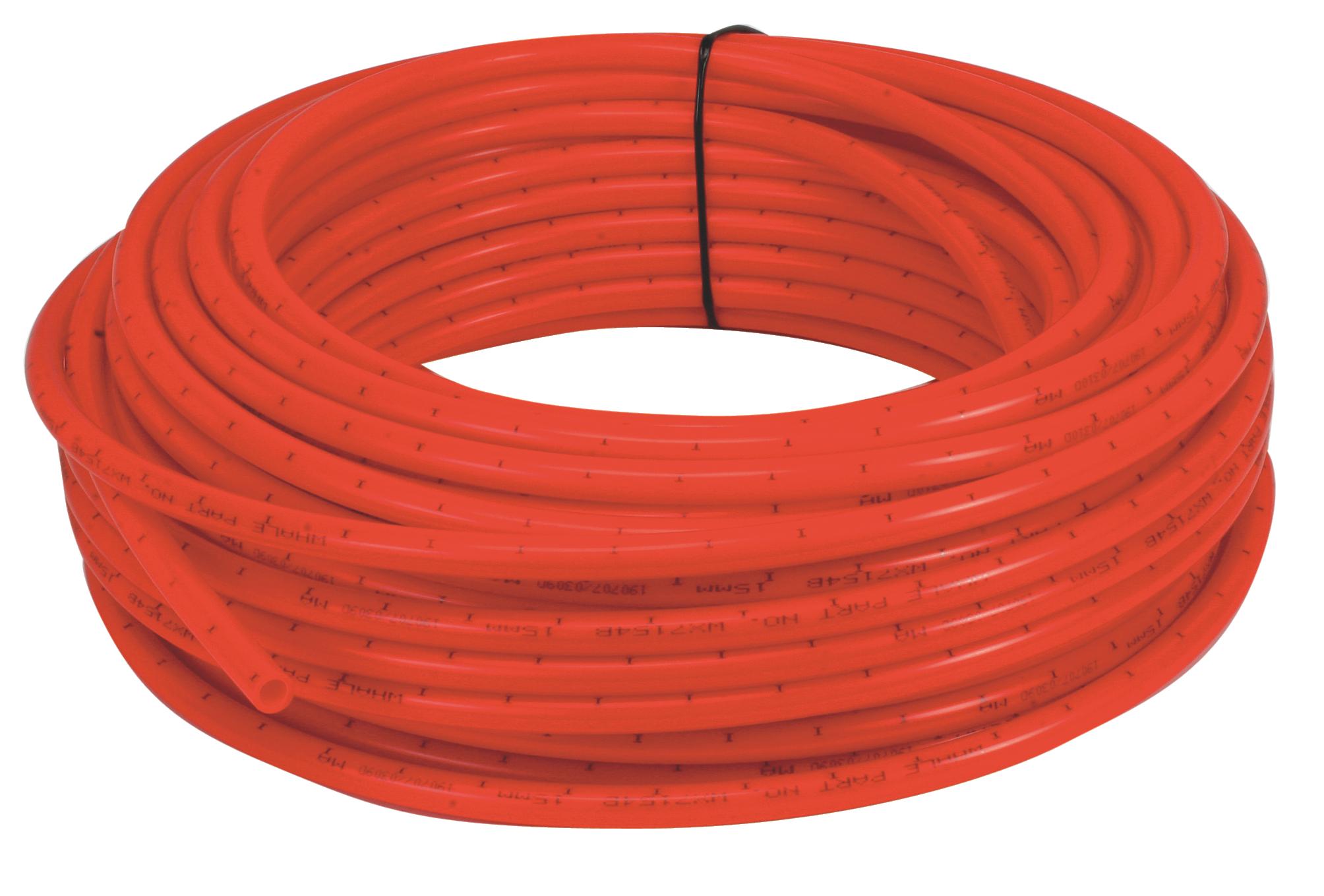 Slang 15x11mm röd 10m/kfp