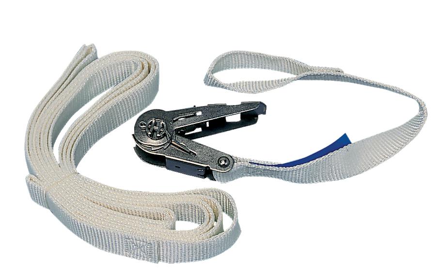 Spännband, 0,4+3,6 m, 500 kg öga-öga