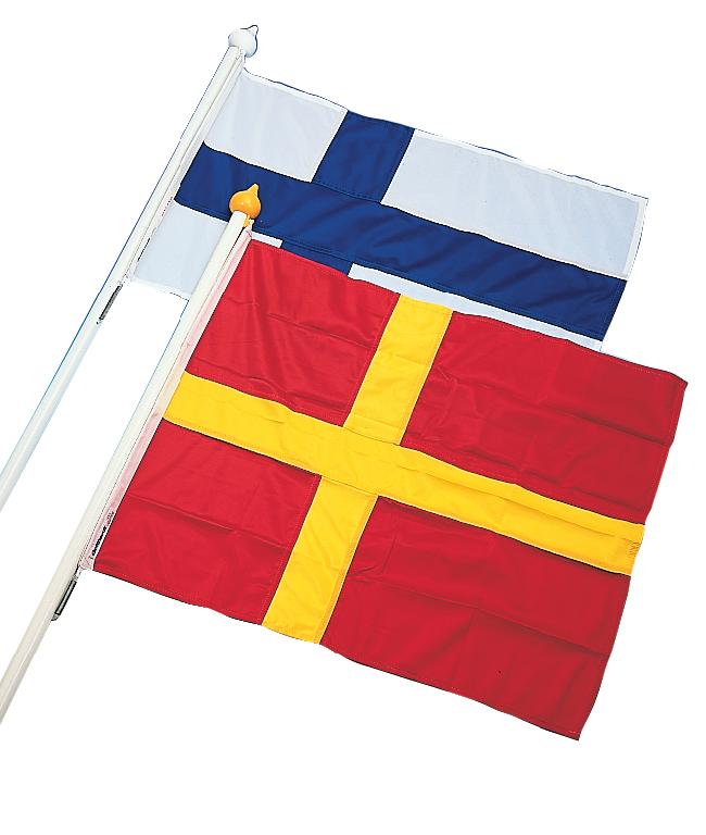 Fasadset skåne, flagga 70 cm