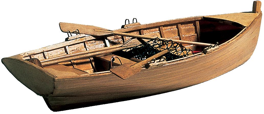 Båtmodell roddbåt