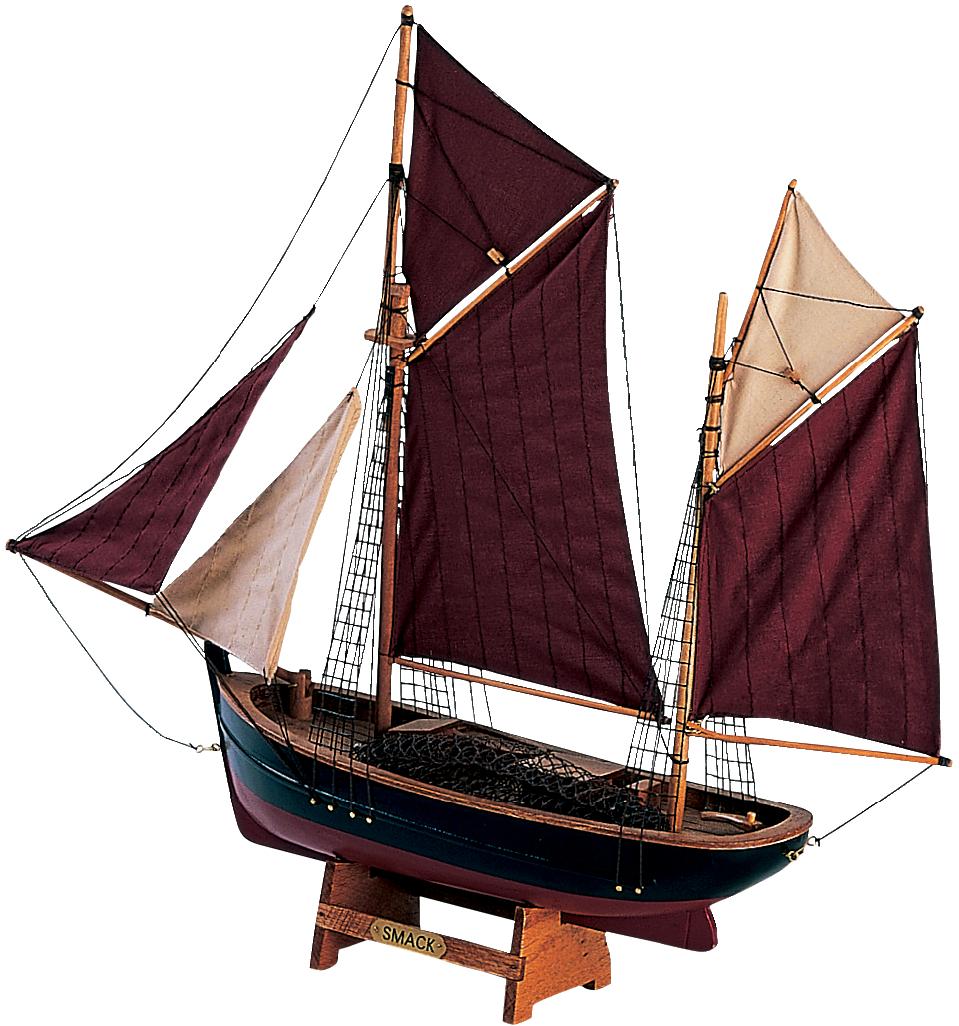 Båtmodell brixham trawler