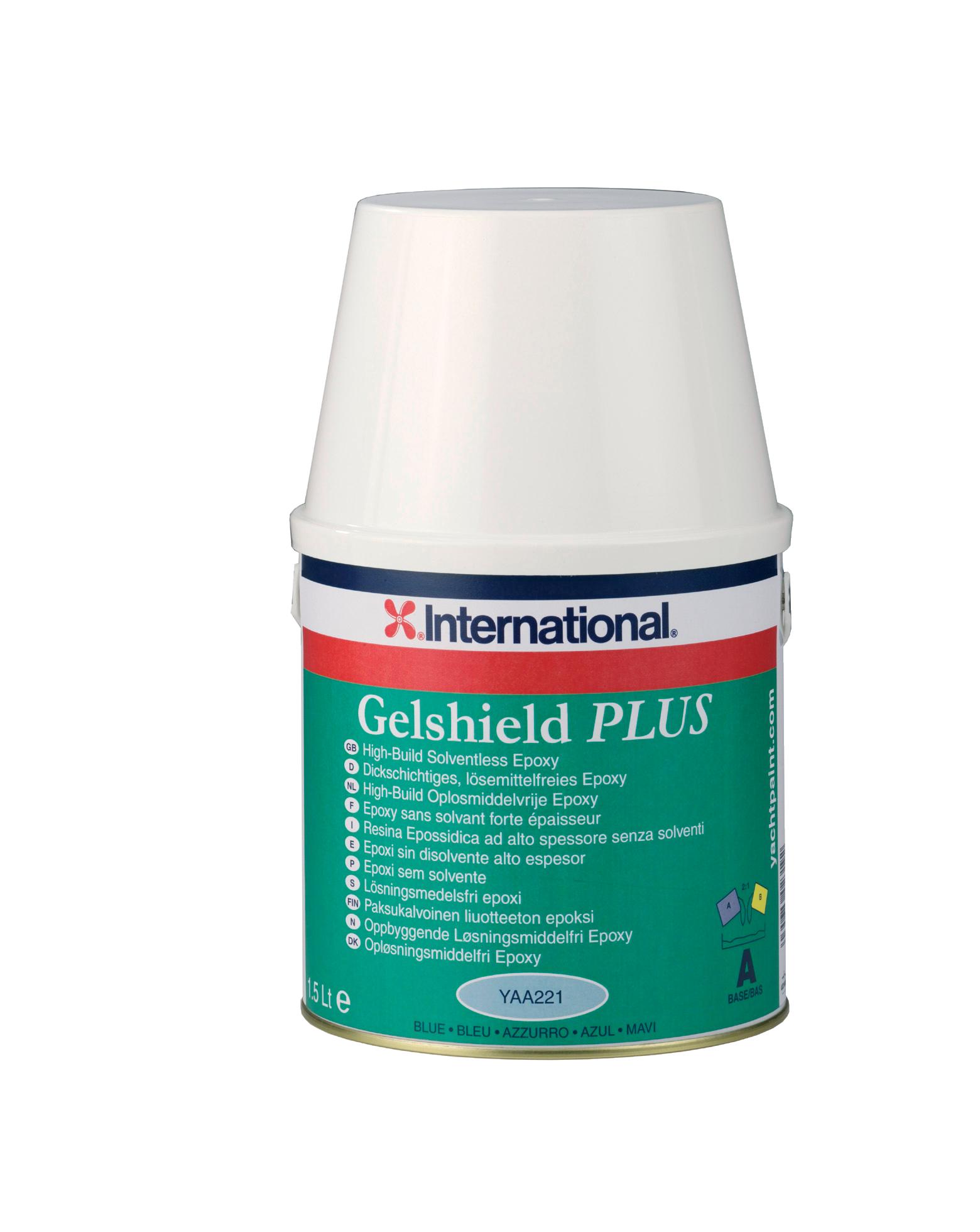 Gelshield+ blå sats 25 l
