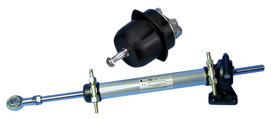 Hydraulstyrning ls 27 maxfart 8 knop
