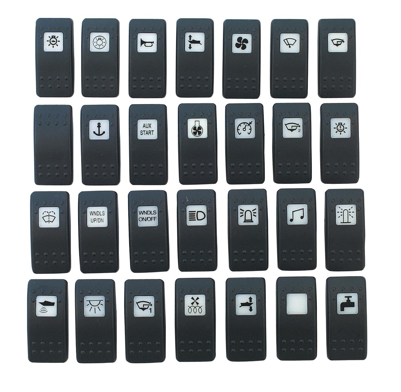 Druckknopf mit Symbol - Sonstige Schalter