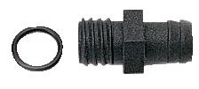 Slanganslutning, 16 mm rak