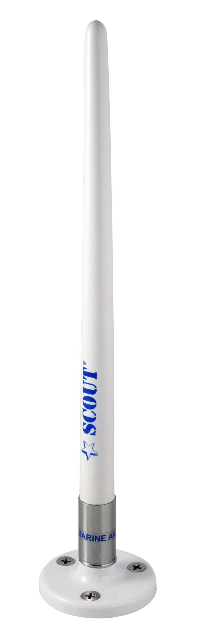 Am/fm antenn 25cm m fäste (ks-100)