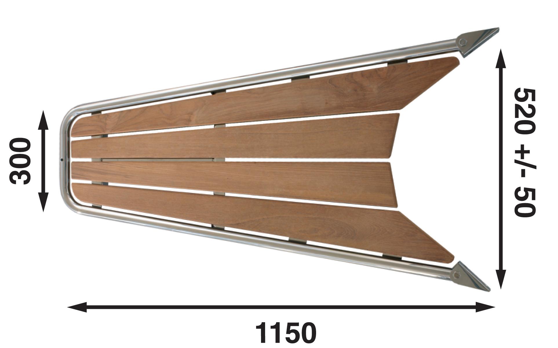 Gennakerpeke för segelbåtar 26-35 fot