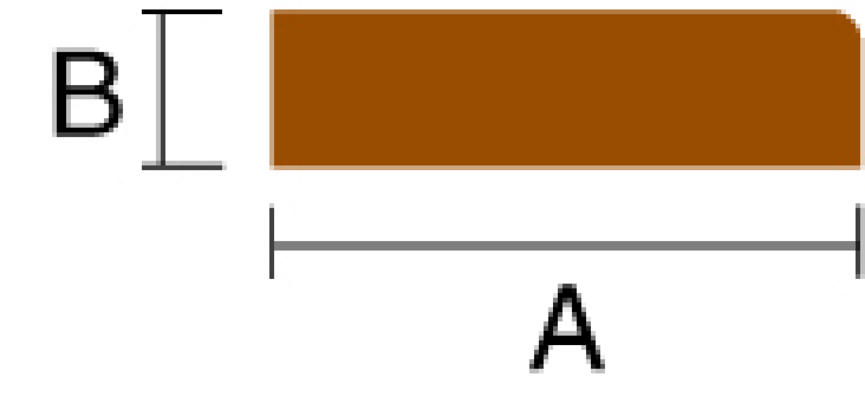 Kantlist 19×10 mm l=2000 mm