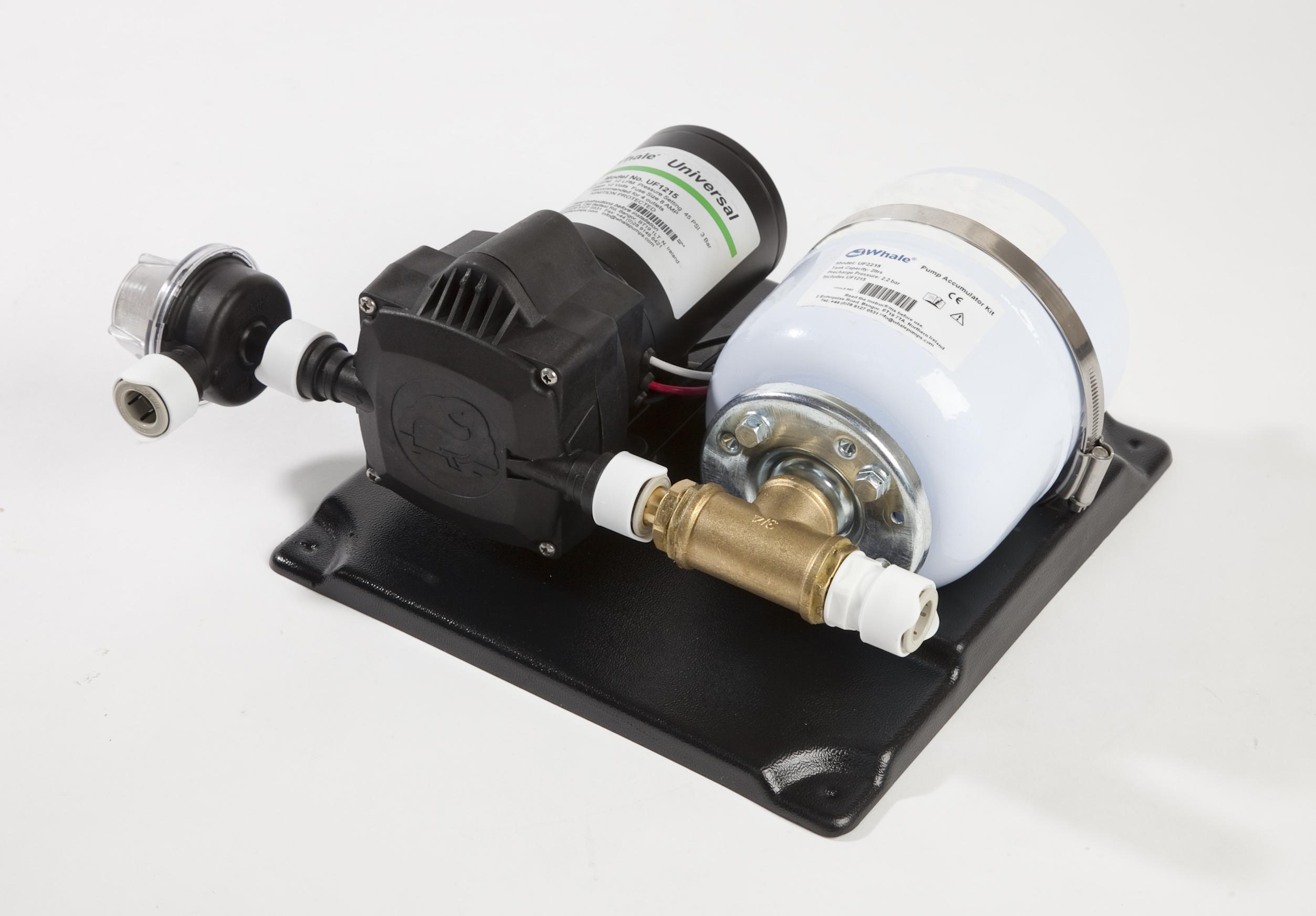 Whale akumulator kit 24 v 115l 3 bar 2l