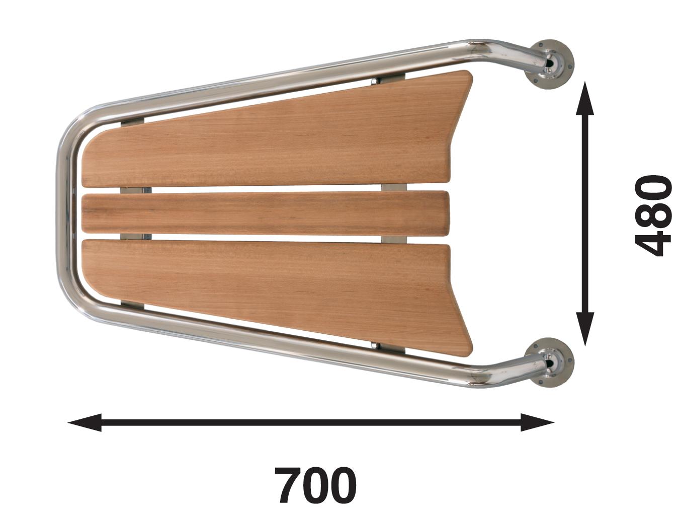 Peke för motorbåt, mp 75, 700 mm