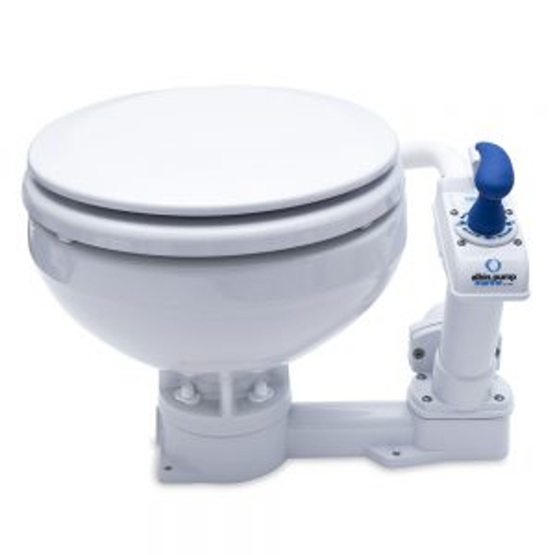 Toalett standard compact manuell