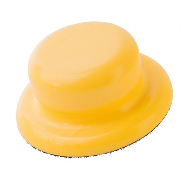 1852 gul hand polerings pad med velcro ø 125 mm