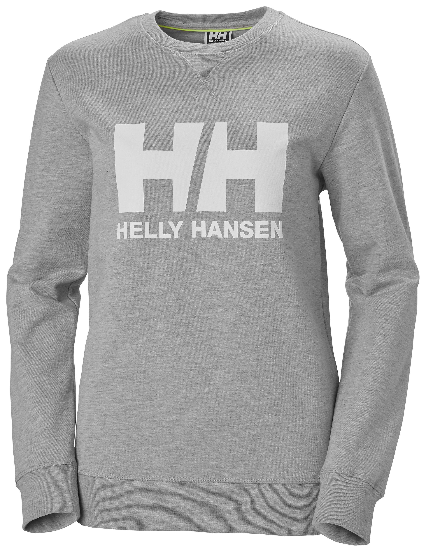 Helly hansen sweatshirt crew grå strl s