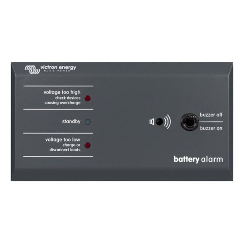 Batterialarm victron med ljud och ljus 12/24v