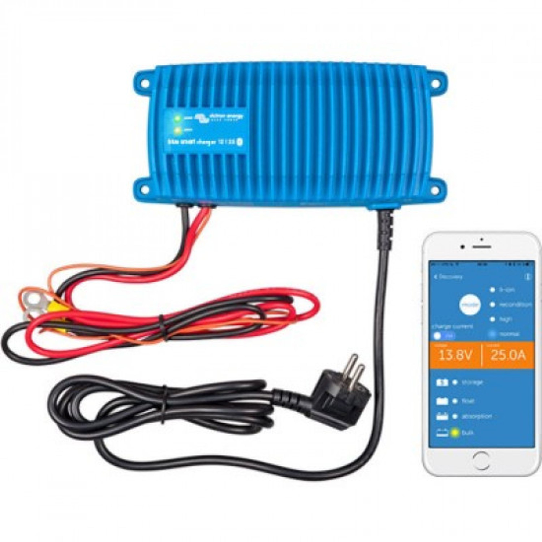 Victron blue smart laddare 24v 8 amp ip67
