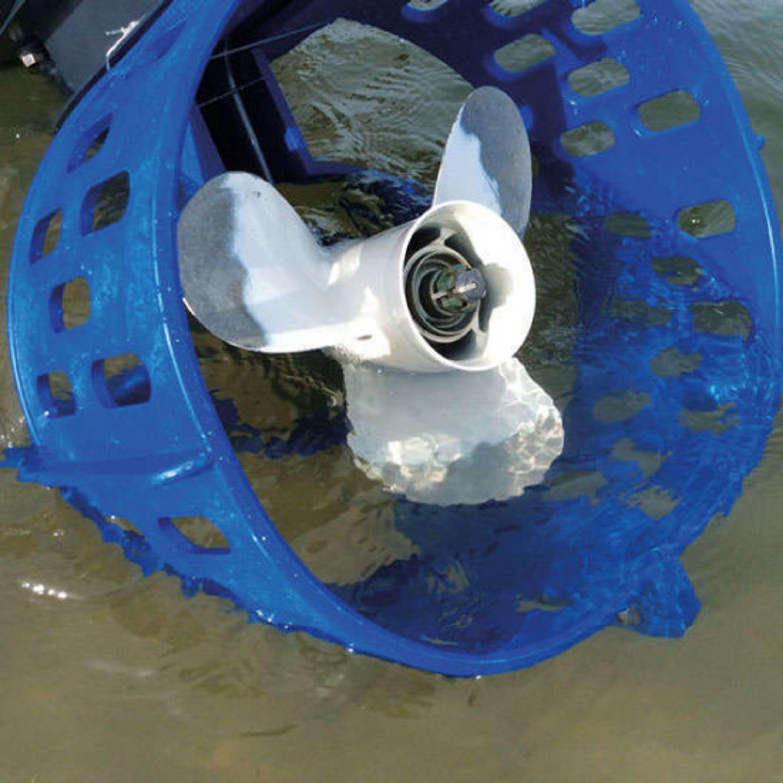 Kraftigt propellerskydd 13 1/4 40-60hk blå