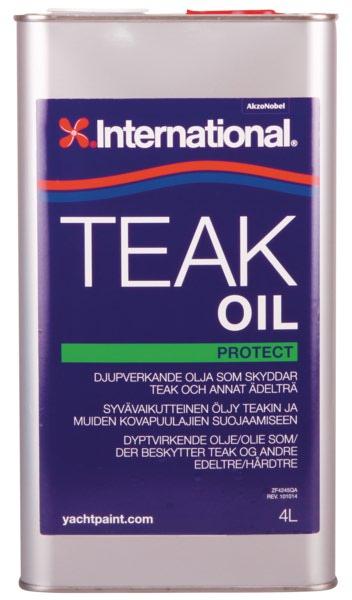 Teak oil 4l inter