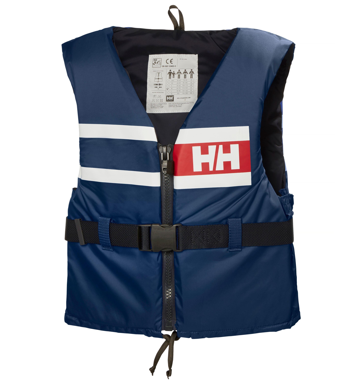 Helly hansen flytväst sport comfort navy strl 40/50kg
