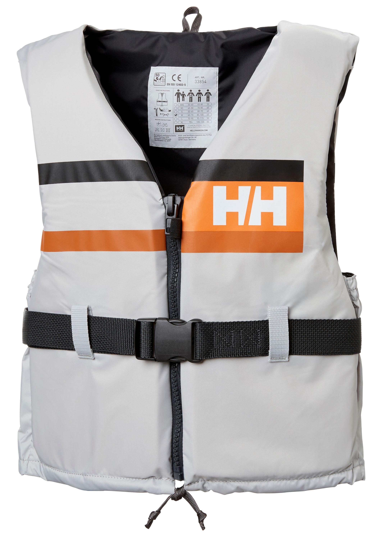 Helly hansen flytväst sport comfort grå strl 30/40kg
