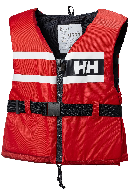 Helly hansen flytväst sport comfort röd strl 70/90kg