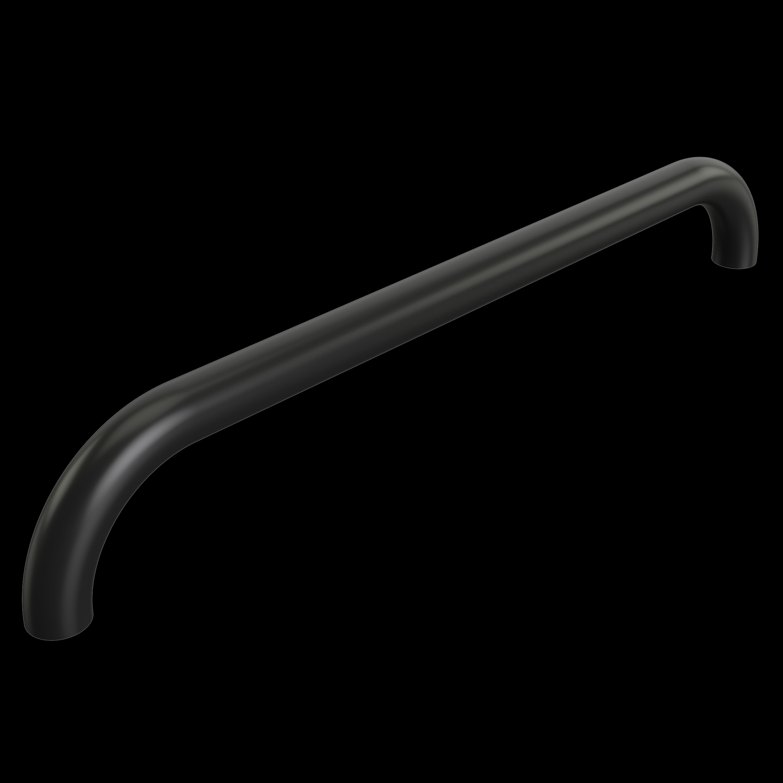Grabbräcke svarteloxerat c/c 450mm 90gr