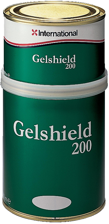 Gelshield grön sats 25 l m härdare