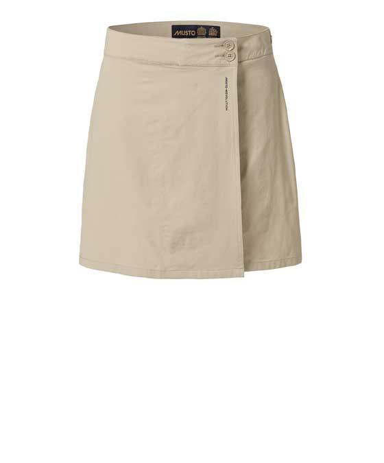Musto evolution kjol, beige s