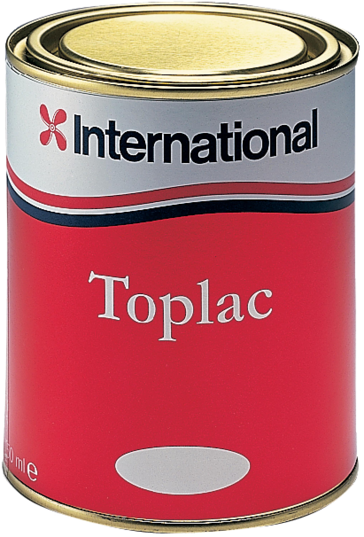 International toplac lackfärg vit 25 l
