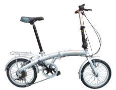 Cykel med 6 gear og 16'' tommer hjul