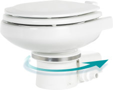 El toilet fra Dometic/Waeco - Masterflush 7160