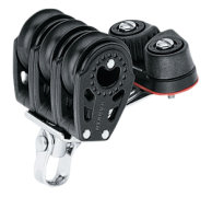 Trippelblok med Cam Cleat, Carbo Air 29 mm