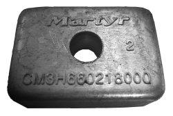 M/M Zink anode 4-9,9 HK påhængsmotor