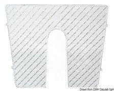 Schutzplatte für Heck, Kunststoff